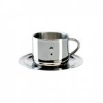 Кофейная чашка с блюдцем BergHOFF Straight 1107073