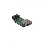 Переходник USB 2.0, Espada [EIDC10PF-USB2x1]