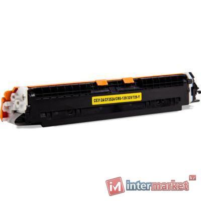 Картридж, Colorfix, CE312A/CF352A, Жёлтый, Для принтеров HP CLJ CP1025, Pro M275/M175/M176/M177, 1000 страниц