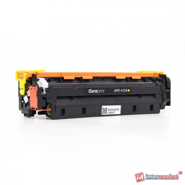 Картридж Europrint EPC-CF412A Жёлтый