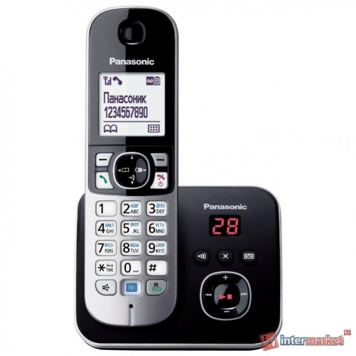Радиотелефон Panasonic KX-TG6821, Black