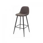 MC UDC5122 (Lion bar) стул микрофибра темно-серый