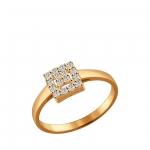 Кольцо Sokolov 93010533-16,5, серебро