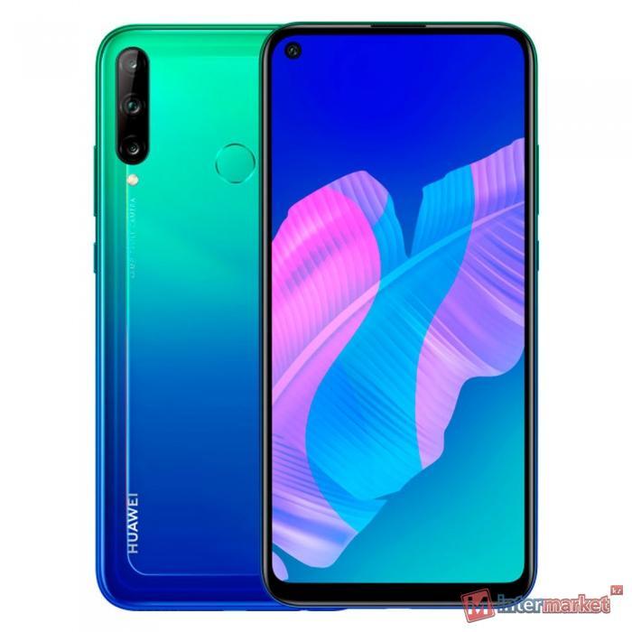 Телефон сотовый HUAWEI P40 Lite E (Aurora Blue)