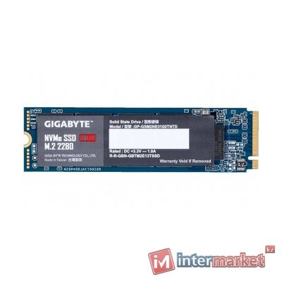 Твердотельный накопитель SSD, Gigabyte, GP-GSM2NE3100TNTD (4719331806897), 1TB, M.2, PCI-E 3.0x4, NVMe