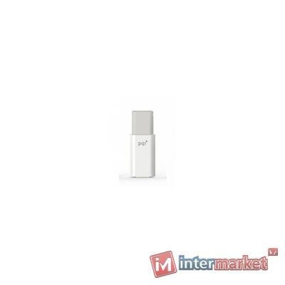 Флешка 16GB 3.0 PQI 617V-016GR3001 белый серый