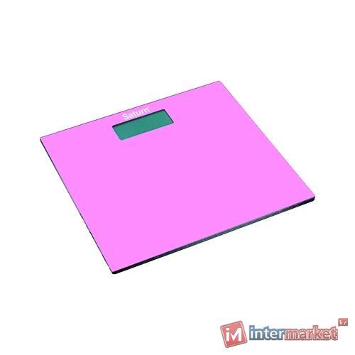 Весы напольные Saturn ST-PS0294, розовый
