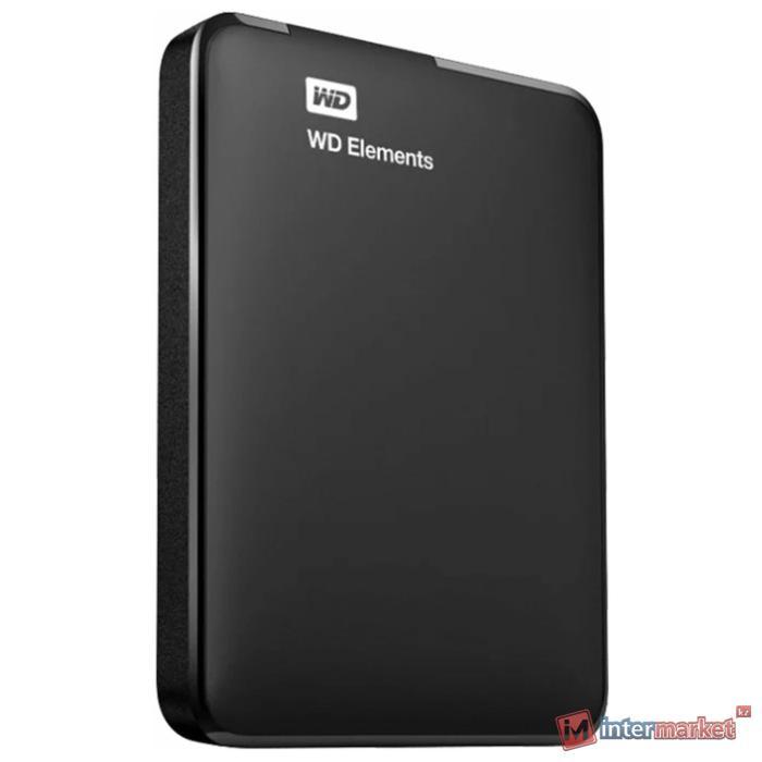 Внешний жёсткий диск WD Elements Portable WDBMTM0010BBK-EEUE 1ТБ 2,5